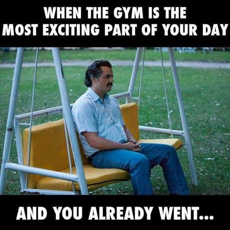 24 Gym Memes About Going To The Gym That Are Way Funnier Than They Should Be17