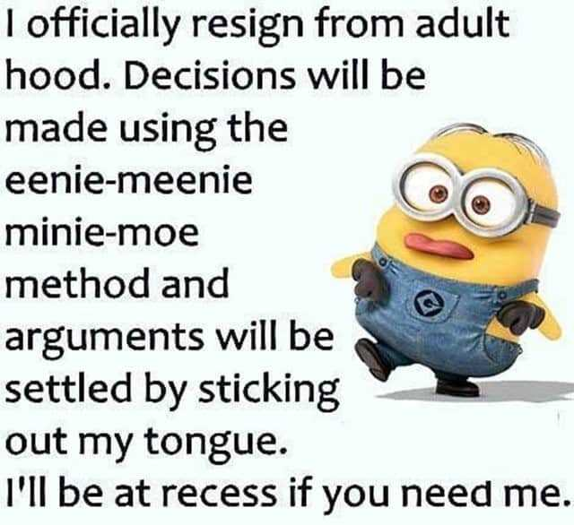 27 Funny Quotes Inspirational That will Inspire You — Minions Quotes 14