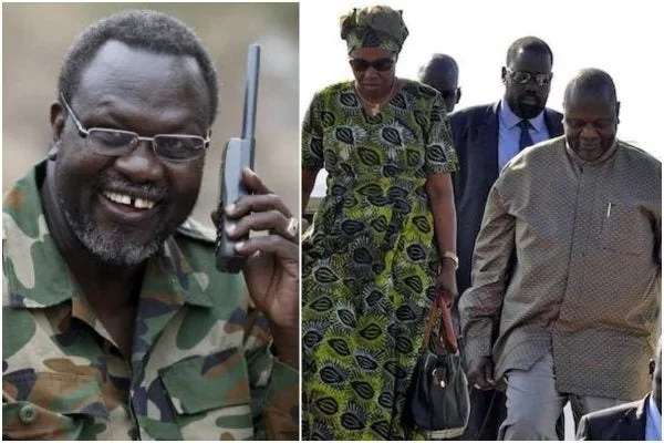 South Sudan's Vice President and his wife tested positive for ...