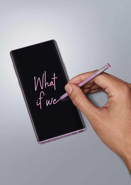 Galaxy Note 9 Lavender Purple