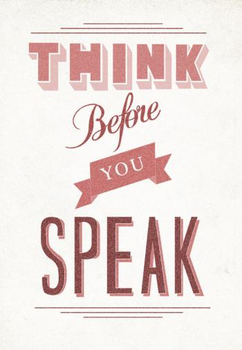 How to Speak More Wisely