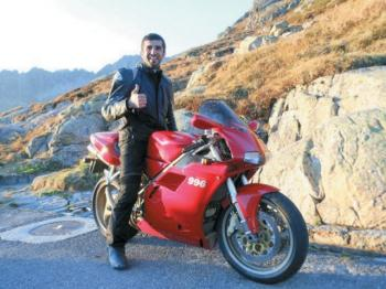 Moin Khan: A Man, A Motorcycle & A Mission