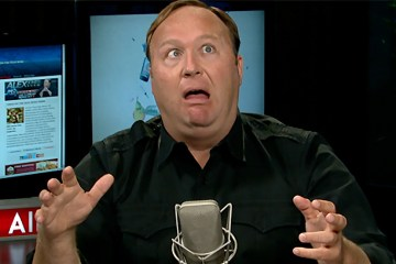 Alex Jones, a true moron of the 21st century