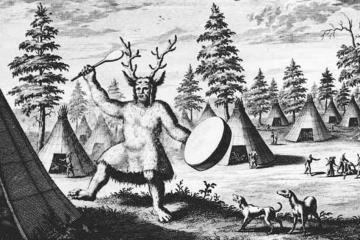 Reindeer shaman