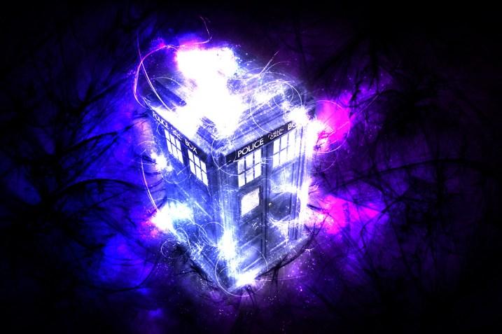 Doctor Who TARDIS time travel