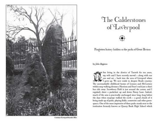 The Calderstones of Liverpool, from Darklore Volume 6