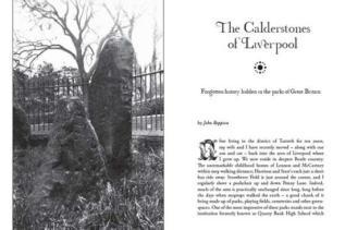 The Calderstones of Liverpool, from Darklore Volume 6