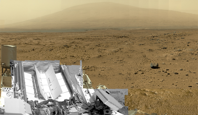 Mars Billion Pixels Martian Curiosity Rover NASA