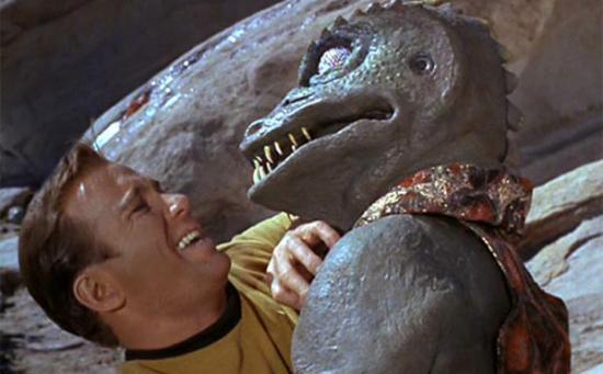Kirk vs Gorn