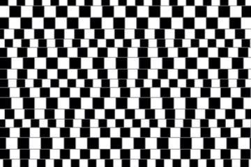 Horizontal Line Optical Illusion