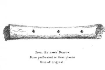 Deerbone Flute from Avebury