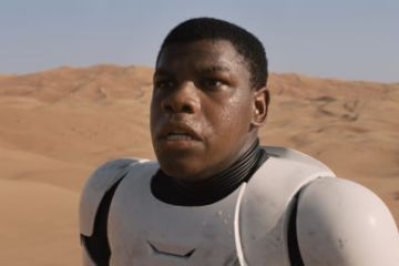John Boyega Star Wars Force Awakens Disney stormtrooper tatooine