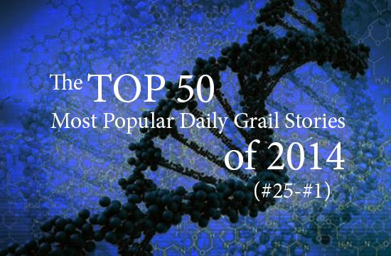 Top 50 Daily Grail Articles of 2014, 25 - 1