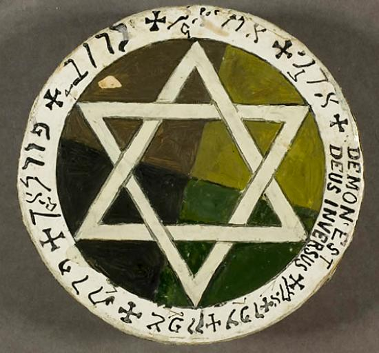 Yeats's Golden Dawn Earth Pentacle