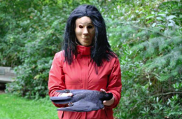 Crow death creepy