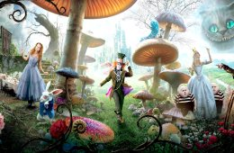Alice in Wonderland Mushrooms