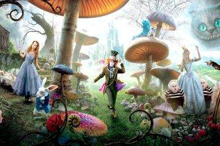 Alice in Wonderland Mushrooms