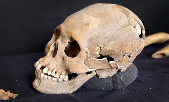 Archaeologists Find Elongated Skull Of A Woman With Jewel