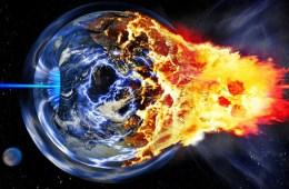 Exploding Earth apocalypse