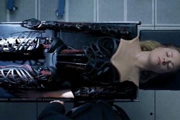 Dolores' endoskeleton in Westworld