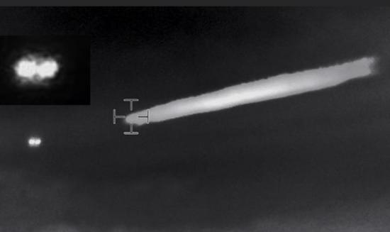 Chilean UFO Infrared Plume