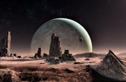 Ancient alien city