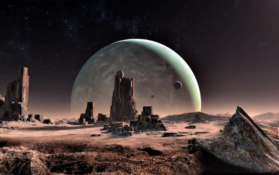 Ancient alien city