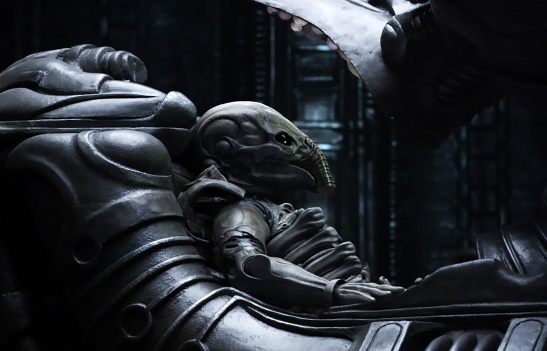 Alien from the movie Prometheus