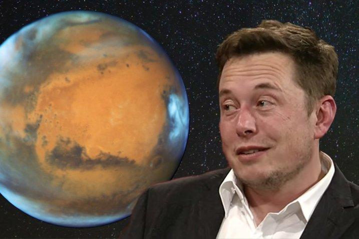 Elon Musk makes eyes at Mars