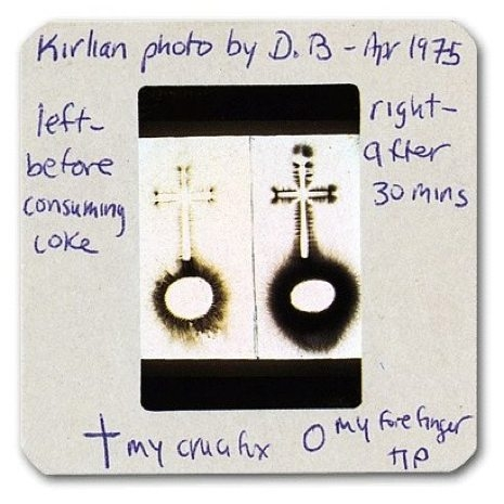 David Bowie's Kirlian photography