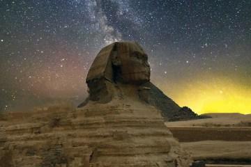 Sphinx in Twilight