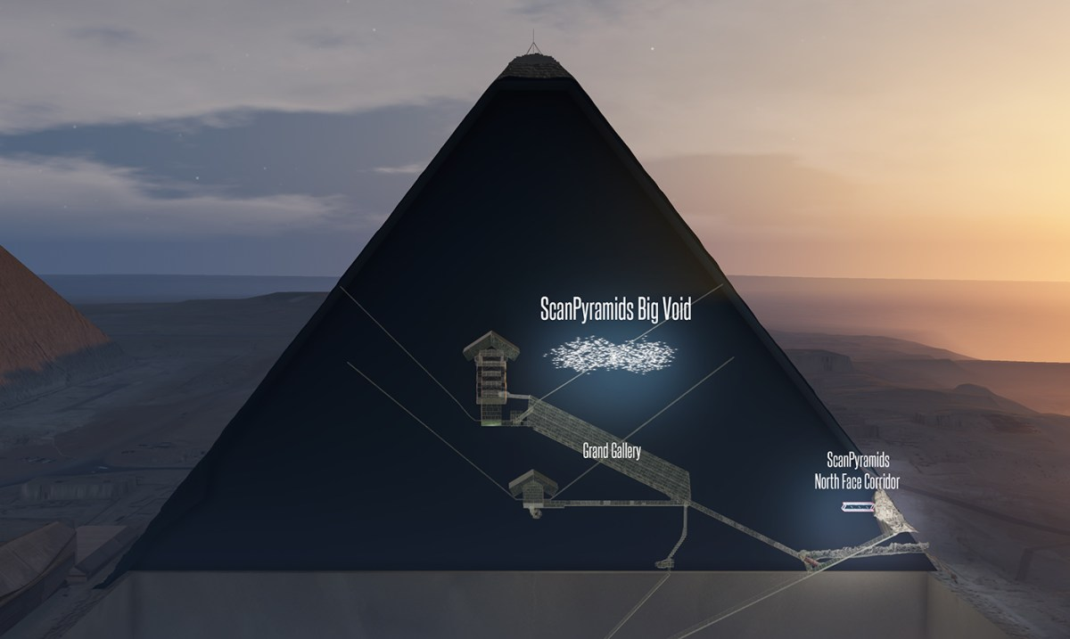 'Big void' discovery in the Great Pyramid