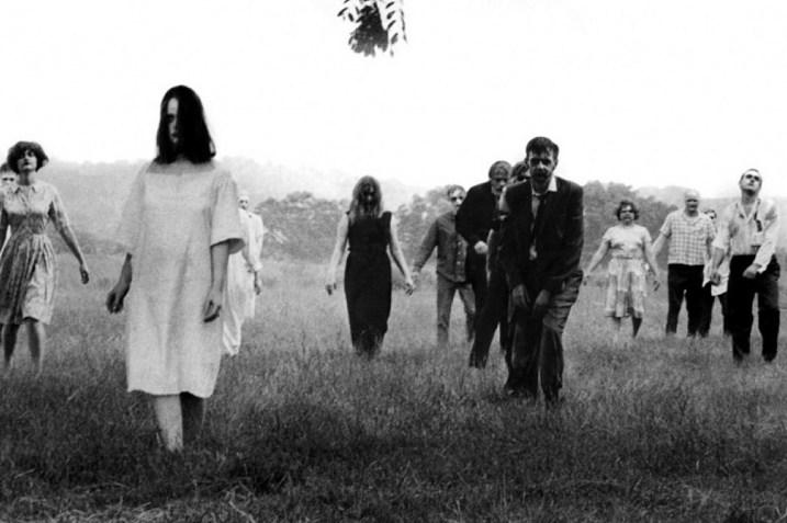Night of the Living Dead movie scene