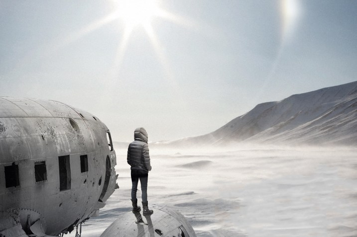 Antarctica image on cover of Austral