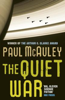 Book cover for The Quiet War, by Paul McAuley