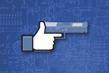 Weaponizing Facebook Like Pistol