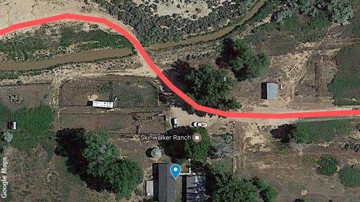 Skinwalker ranch (Google Maps)