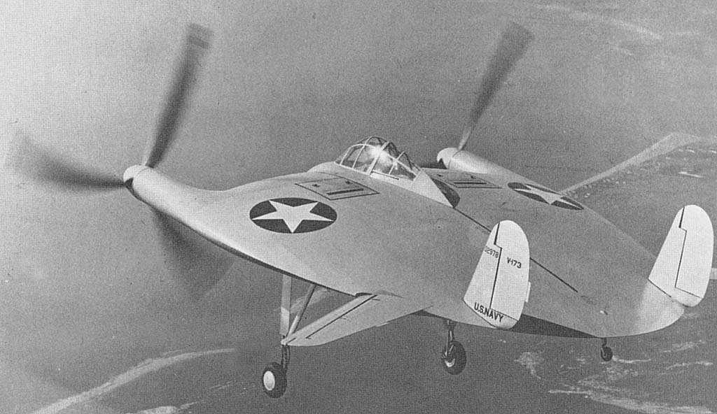 Vought V-173 'Flying Pancake', the predecessor to the 'Flyinig Flapjack'