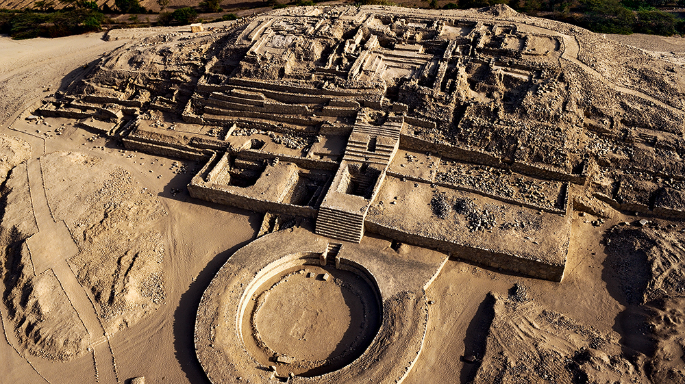 Caral pyramid complex