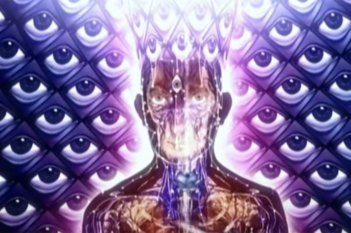 Transcended figure from Tool's Parabola music video