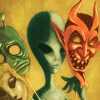Passport to Magonia alien with masks