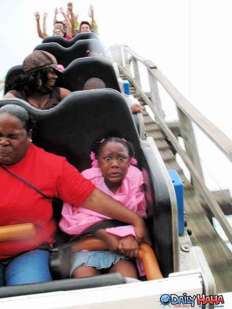 Rollercoaster Scared