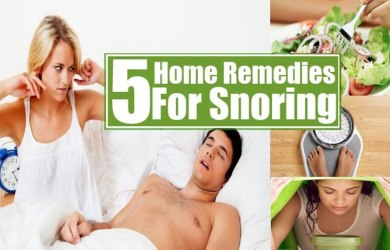 5 Home Remedies to Help You Stop Snoring