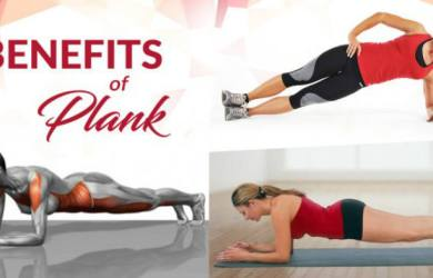 Health Benefits of Doing Planks