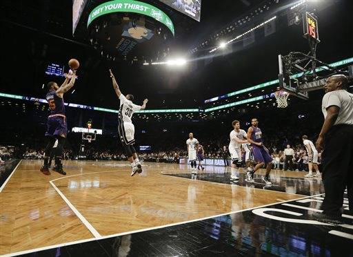 Suns rally late in 4th, beat Nets 108-100 in overtime ...