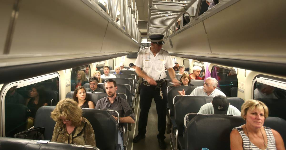 Metra Conductor Not A Simple Ticket Taker
