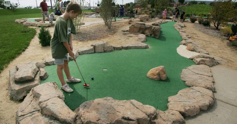Fun mini golf courses to putt a round in the suburbs