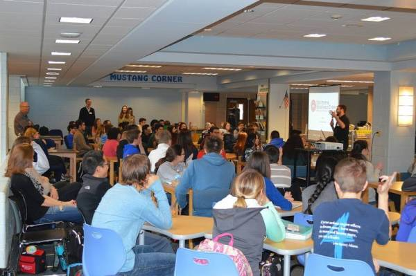 Mentors from companies foster STEM learning at local schools