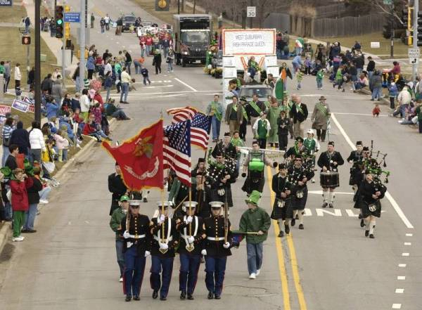 West Suburban Irish gearing for St. Patrick's Day Parade