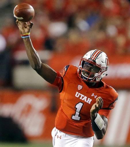 Sophomore Tyler Huntley named Utah starting quarterback